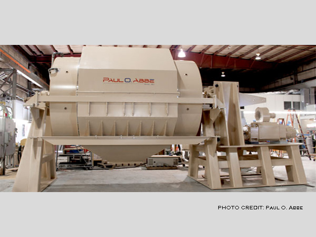 picture of a ball mill