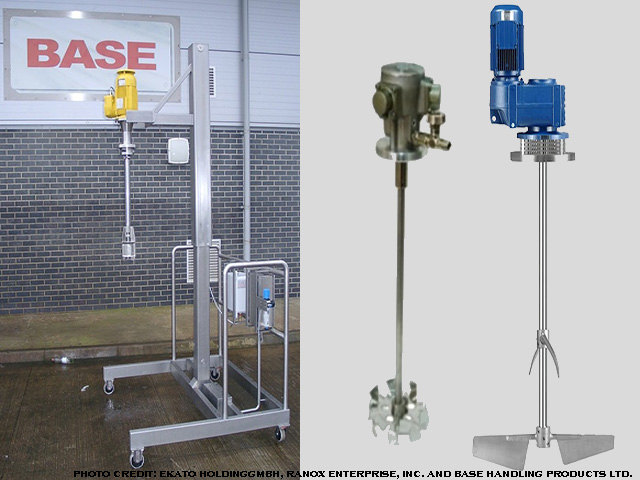 picture of a Pneumatic mixers