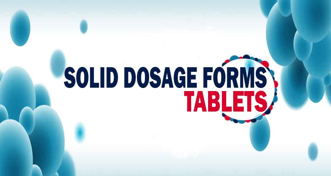 Featured image of solid dosage form: tablets