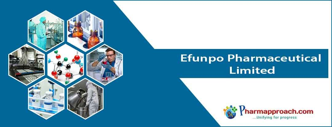 Pharmaceutical companies in Nigeria: Efunpo Pharmaceutical Limited