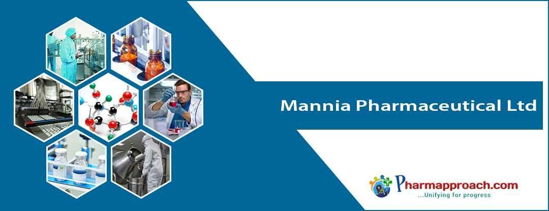 Pharmaceutical companies in Nigeria: Mannia Pharmaceutical Ltd