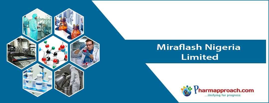 Pharmaceutical companies in Nigeria: Miraflash Nigeria Limited