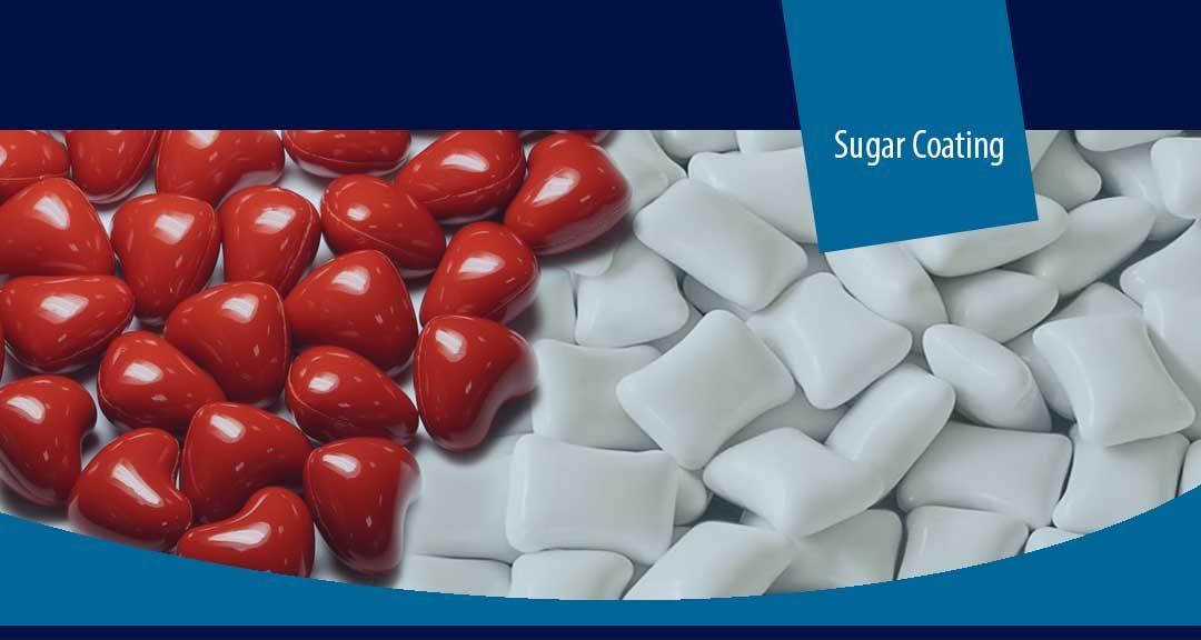 Sugar coating of pharmaceutical dosage form