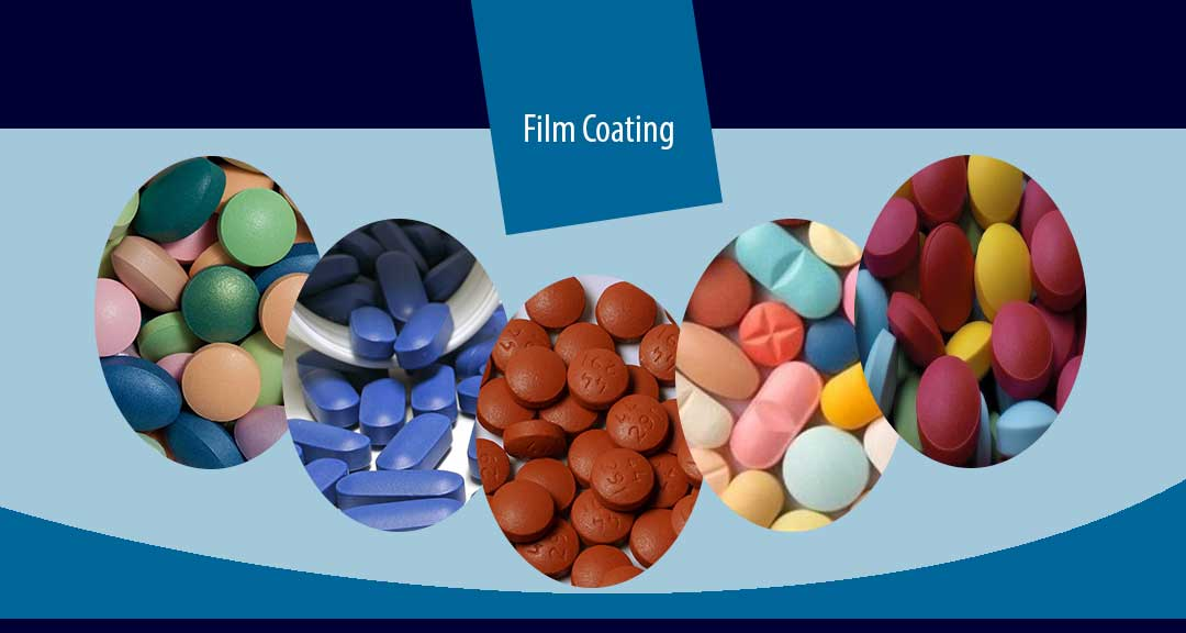 Film coating of pharmaceutical dosage forms