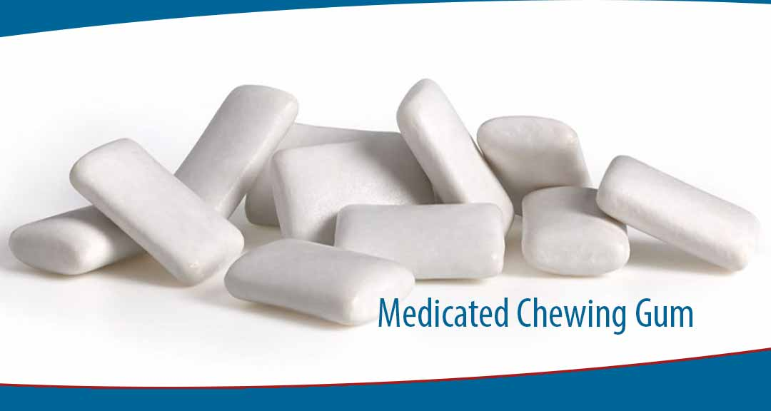 Medicated chewing gum