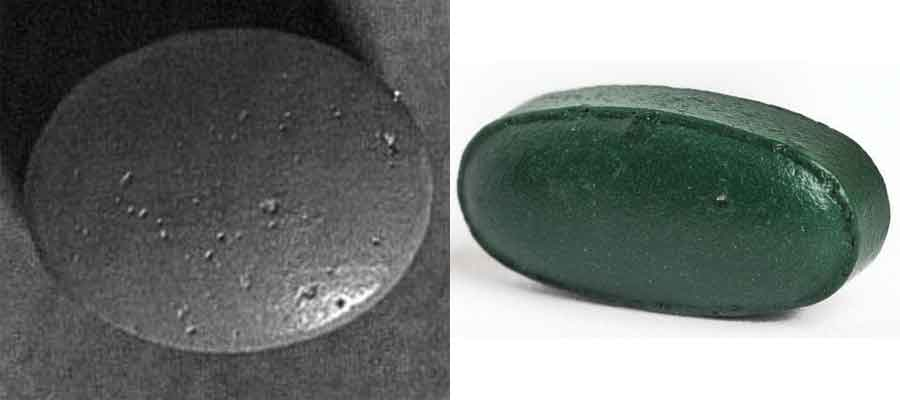 Defects in film coating: Tablet Pitting