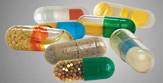 Capsules: Examples of capsule fill materials