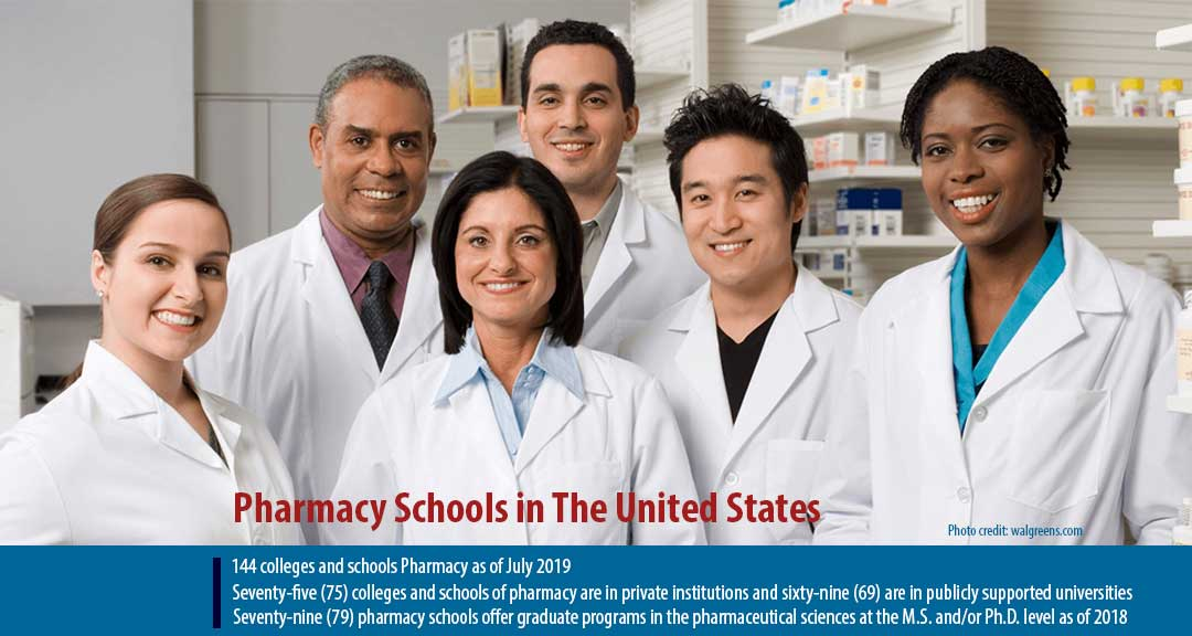 Pharmacy Schools in the United States