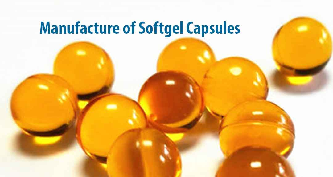 Featured image for manufacture of soft gelatin capsules
