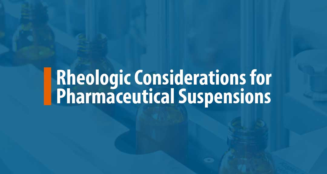 Featured image for Factors Affecting Rheology of a Suspension