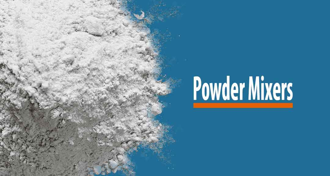 Featured image for Equipment used in the mixing of powders